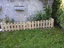 Pallet Garden Fence Easy Pallet Ideas