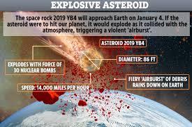 violent sky explosion ...