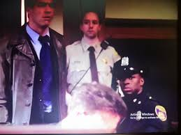 Before he was Chris Partlow, Gbenga Akinnagbe played a Cop. : TheWire
