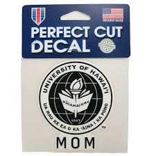Uh Seal Sticker Mom Decal University Of Hawai I Manoa Bookstore