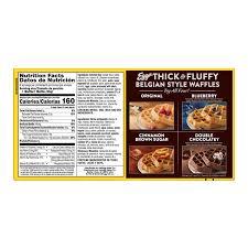 kellogg s eggo waffles thick fluffy