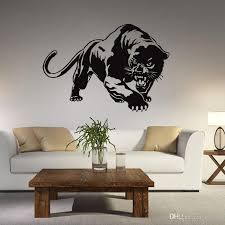 Leopard Wall Sticker Living Room Anime Poster Decorative Wall Decal Home Decoration Wall Art Catamount Wallpaper Removable Wall Art Stickers Removable Wall Decal From Kity12 3 72 Dhgate Com