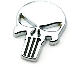 The Punisher Metal Decal Sticker Stickers Decals Roxie Rebel