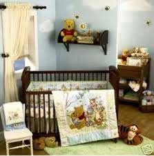 winnie the pooh crib bedding 4 pc set