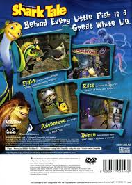 DreamWorks' Shark Tale (2004) PlayStation 2 box cover art - MobyGames
