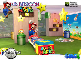 Super Mario Kids Bedroom The Sims 4 Catalog