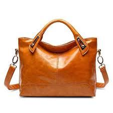 las leather handbags silt pocket