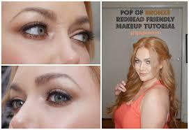 redhead friendly eyeshadow tutorial