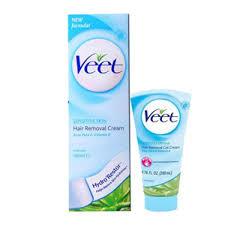 veet hair removal for sensitive skin
