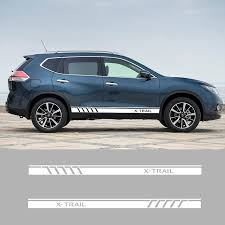 Car Truck Graphics Decals Motors A Pair Vinyl Side Skirt Stripe Car Sticker Auto Door Decal For Nissan X Trail Ontapbeer Tours