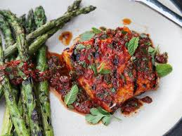 Red Curry-Rubbed Grilled Halibut With ...