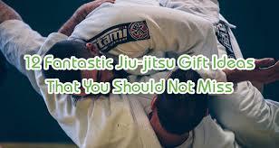 12 fantastic jiu jitsu gift ideas that
