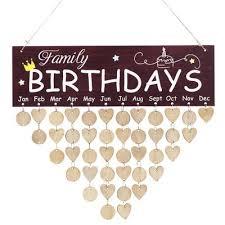 diy wooden birthday reminder plaque