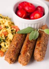 vegan breakfast sausage links oil