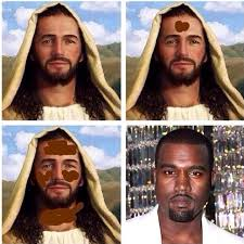 black makeup transformation meme