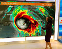 Iisha Scott - Tracking the strongest storm, in recorded...   Facebook