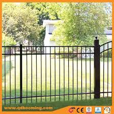 China High Quality Cast Portable Yard Fence Panels For Sale China Garden Fence Fencing