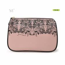 pu travel soft leather cosmetic bag
