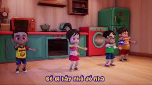 Không chạy nhảy sau khi ăn Kỹ năng sống cho bé qua nhạc thiếu nhi ♥ Phim  hoạt hình thiếu nhi - YouTube