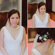 cleo chang bridal makeup hair