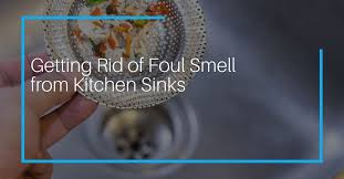 how to get rid of sewer smell from