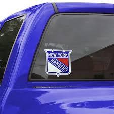 New York Rangers Car Decals Rangers Bumper Stickers Decals Fanatics