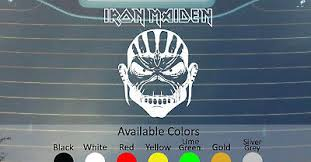 Iron Maiden Seventh Son Of A Seventh Son Vinyl Decal Sticker Custom Size Color