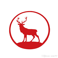 2020 2017 Hot Sale Cool Graphics Car Stying Decals Deer Animal Car Reflective Reflective Waterproof Vinyl Stickers Car Accessories From Xymy767 1 41 Dhgate Com