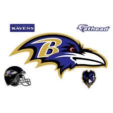 Fathead Nfl Baltimore Ravens Logo Large Wall Decal Bed Bath Beyond
