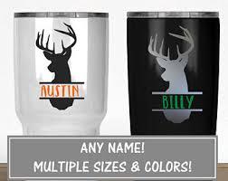Yeti Deer Decal Etsy