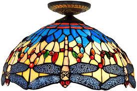 vintage tiffany style ceiling light
