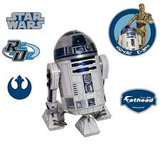 Shop Star Wars R2 D2 Decal By Fathead Wall Vinyl Free Shipping Today Overstock 17752702