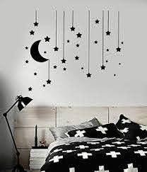 Vinyl Wall Decal Stars Crescent Moon Dream Bedroom Ideas Stickers Ig4833 Ebay