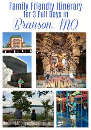 family friendly itinerary for 3 full