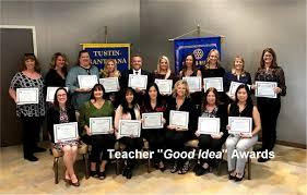 Annual Teacher Good Idea Awards ...