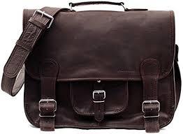 vintage leather satchel shoulder bag