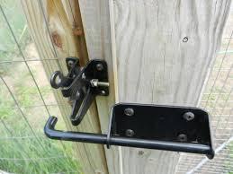 Wood Fence Wood Fence Lock Hardware