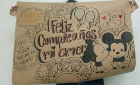 Feliz Cumple Regalo Mickey Regalos Creativos Regalos De