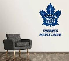 Toronto Maple Leafs Wall Decal Art Sticker Decor Vinyl Nhl Hockey Logo Sr225 Ebay