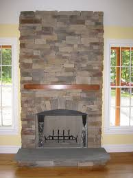 manufactured stone fireplaces offer a
