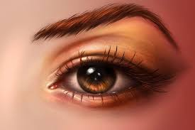 paint realistic eyes in adobe photo