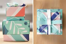 how to make a gift box with wallpaper
