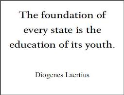 diogenes laertius quote on education student handouts