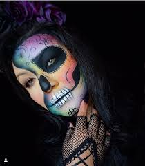 simple sugar skull makeup 27 juelzjohn