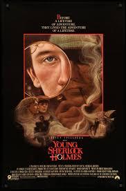 Young Sherlock Holmes (1985) Original One-Sheet Movie Poster - Original Film  Art - Vintage Movie Posters