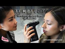 temptu air tutorial with jackie fan