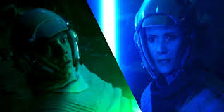 Luke y Leia en Star Wars: The Rise of Skywalker