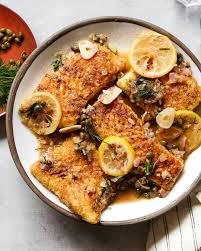 Whole30 Fish Piccata - Paleo