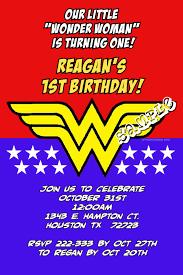 Wonder Woman Birthday Invitations Digital Download Get These