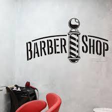 Ruki Barbershop Window Decal Business Decal Barber Shop Decal Sticker Wish